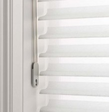installing white window shades